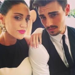 Francesco Monte e Cecilia Rodriguez al matrimonio del fratello di lui