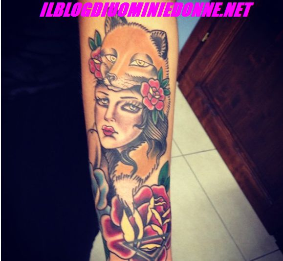Tatuaggio di Francesca del Taglia