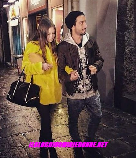 Jonas Berami e Rama Lila Giustinia Napoli dopo la scelta