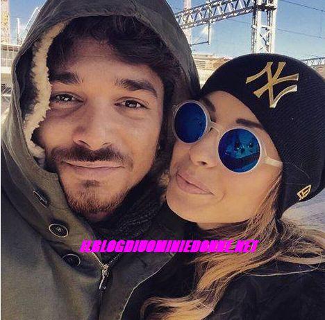 Primo Selfie di Valentina  Rapisarda e Andrea Cerioli