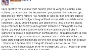 La rabbia di Giuliano Giuliano