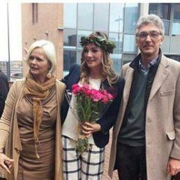 Flavia Fiadone si è laureata