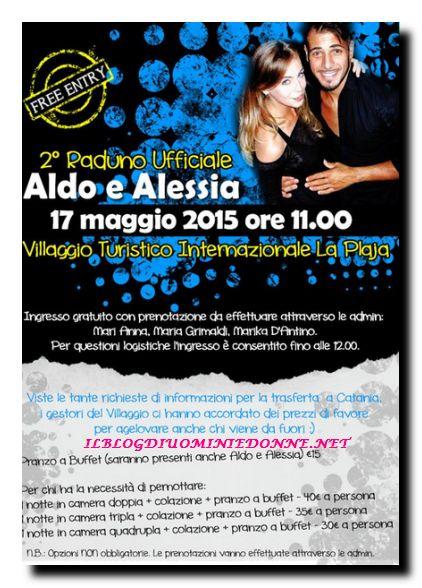 Secondo Raduno ufficiale di Aldo Palmeri e Alessia Cammarota