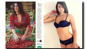 Alessia Messina calendario 2015