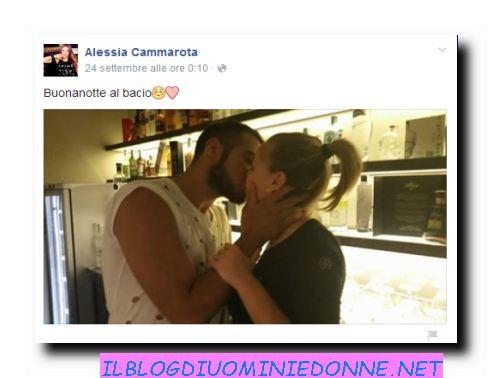 Bacio Aldo e Alessia