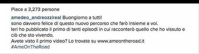 Amedeo Andreozzi scrive