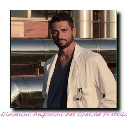 Giovanni Angiolini dentro la casa del GF 14