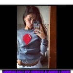 Selfie di Ludovica Valli da instagram