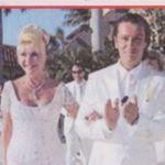 Ivana Trump e Rossano Rubicondi il giorno del matrimonio