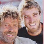 Massimo con il figlio Paolo Ciavarro
