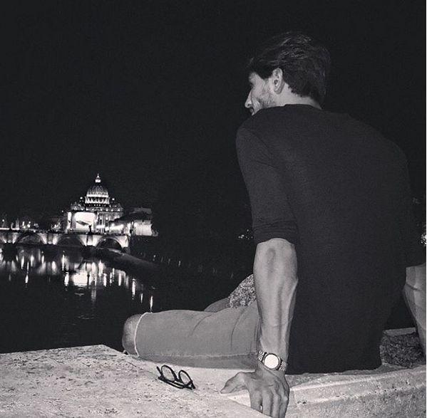 Fabio Ferrara scrive buona notte su instagram a Ludovica Valli