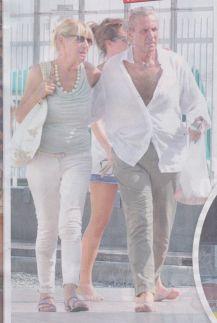 Gemma Galgani baci con Marco in Liguria