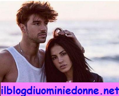 Giulia de Lellis e Andrea Damante foto al mare