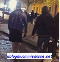 Mario Serpa e Claudio Sona a passeggio a Verona