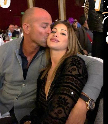 Nicoletta Larini e Stefano Bettarini