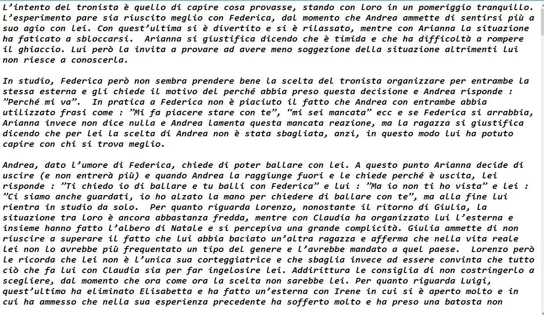 Anticipazioni Uomini e donne Lorenzo Riccardi Parte 12