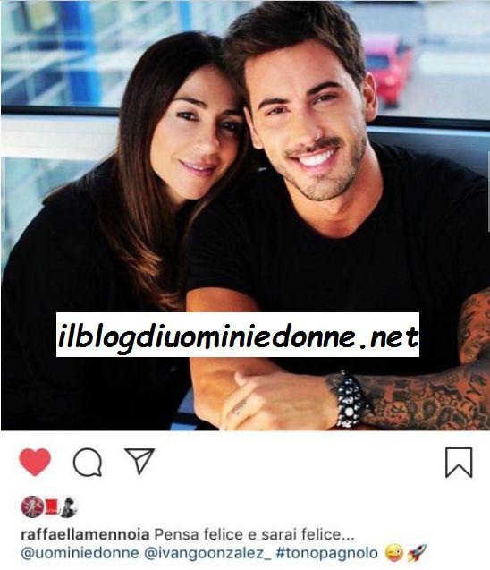 Ivan Gonzalez e Raffaella Mennoia