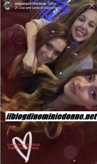 Arianna Cirrincione a Bologna si divverte con le nipoti di Teresa Langella