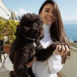 Foto di Chiara Nasti con il suo cane