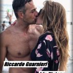 Ida Platano e Riccardo Guarnieri si baciano