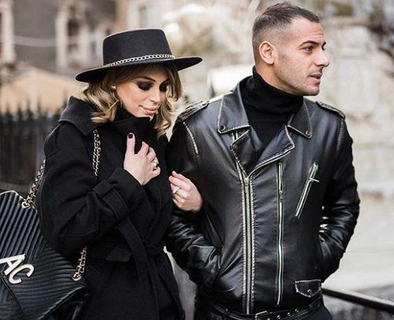 Alessia Cammarota e Aldo Palmeri a passeggio