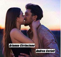 Federica Spano e Andrea Cerioli si baciano con passione