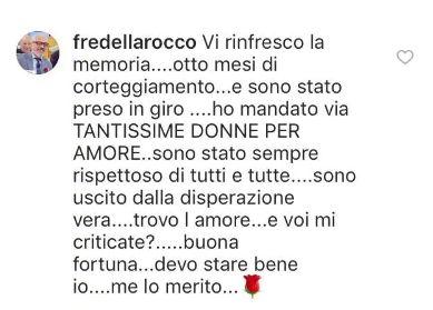 Ex corteggiatore Uomini e donne Rocco Fredella