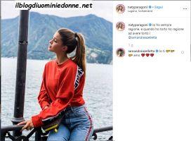 Natalia Paragoni e Andrea Zelletta dichiarazioni d'amore su Instagram