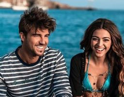 Andrea-Damante con la nuova fidanzata Chiara-Montemurro