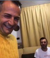 Riccardo Guarnieri con Sossio Aruta
