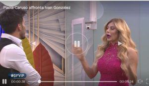 Ivan Gonzalez a confronto con Paola Caruso