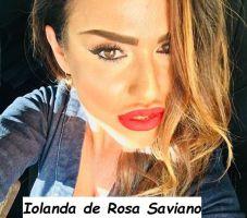 Iolanda de Rosa Saviano corteggiatrice del trono Over di Uomini e donne di Maria de Filippi di Napoli