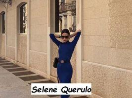 Selene Querulo corteggiatrice di Uomini e donne in posa nella sua città di Terni