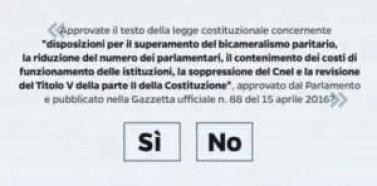 Referendum testo