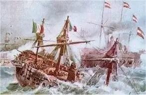 Tesoro a Bordo del relitto della corazzata Re d'Italia