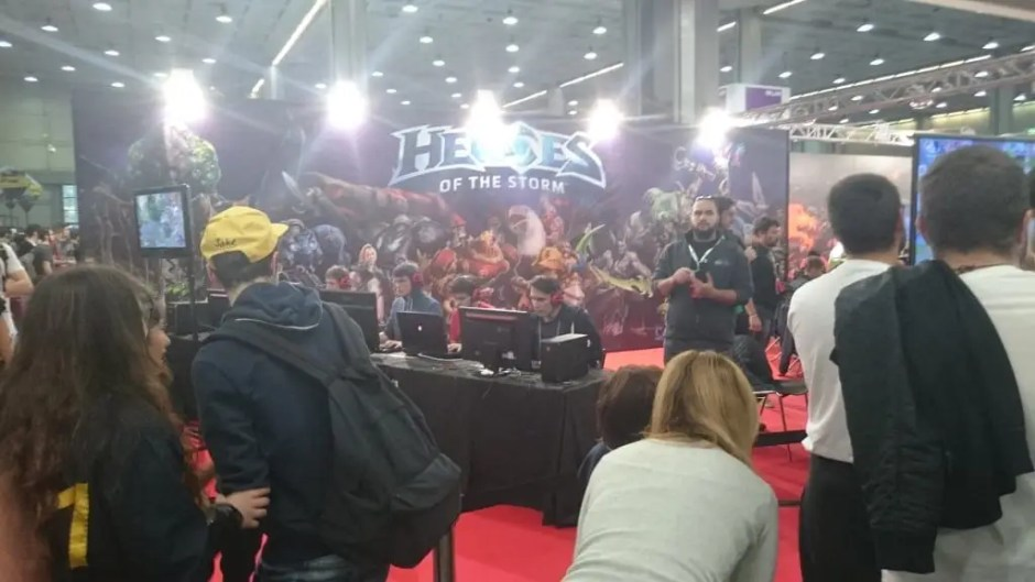 Gamesweek 2015 Heroes of the storm