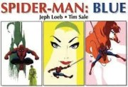 HEROES spider man blue