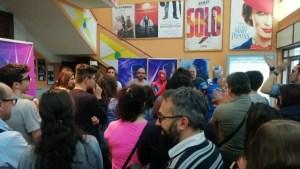 Momento dibattito al Cinema Citrigno