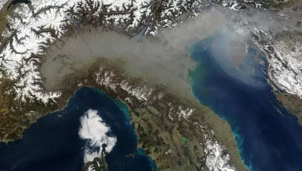 inquinamento atmosferico italia