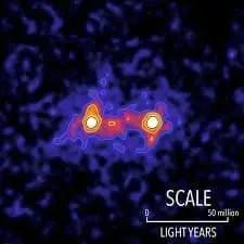 materia oscura: ponte intergalattico