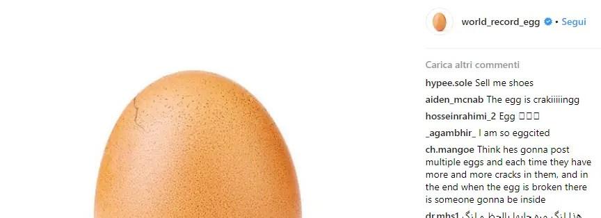 world record egg secondo post