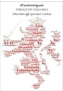 Il nostro word cloud dell'intervista agli operatori della Caritas