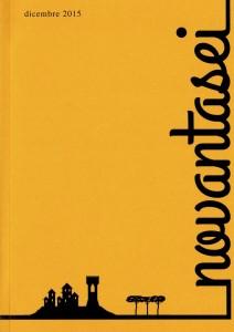"""La nuova rivista """"novantasei"""" avrà proprio 96 pagine, e sfogliandola si potranno trovare poesie, racconti e immagini d'arte."""