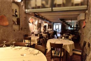 Il ristorante La Grotta a Brisighella