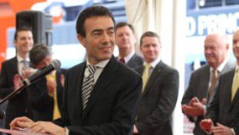 Daniele Rossi, presidente dell'Autorità portuale