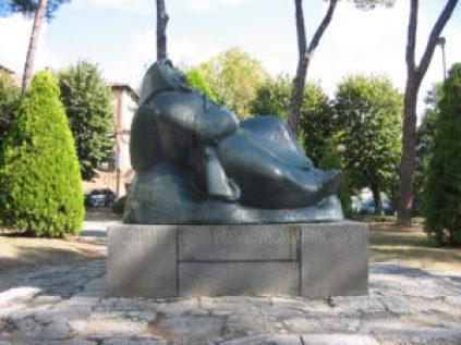 D.Rambelli, Monumento ai caduti, Brisighella.