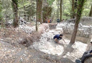 Scavi di Rontana: il sogno è farne un parco archeologico