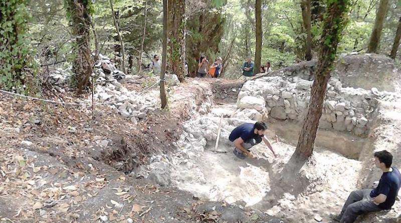 scavi Rontana