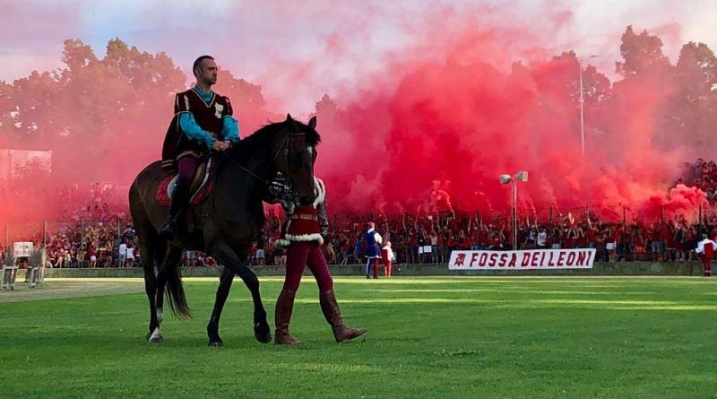 valentino medori Rione Rosso Palio 2018