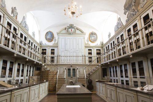 sala settecento biblioteca